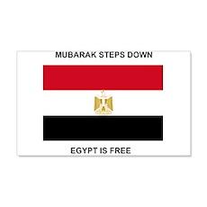 Egypt Is Free 22x14 Wall Peel