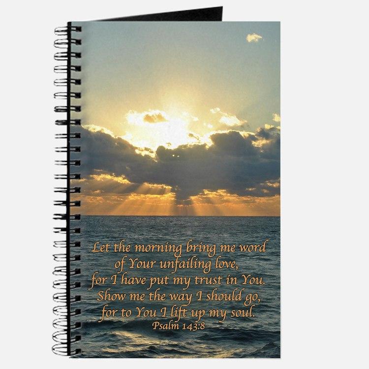 Psalm 143:8 Journal