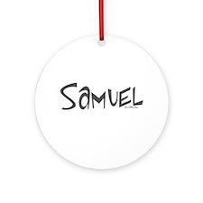 Samuel Ornament (Round)