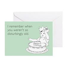 Disturbingly Old Greeting Card