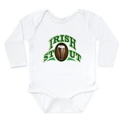 Irish Stout Long Sleeve Infant Bodysuit