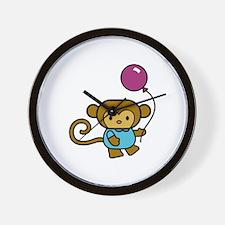 Strolling Monkey! Wall Clock