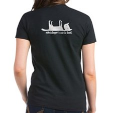 Schrodinger's Cat Women's Tee (dark)