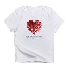 Celtic Heart (Red) Infant T-Shirt
