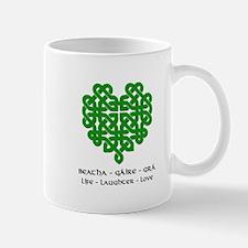 Celtic Heart (Green) Mug
