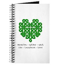 Celtic Heart (Green) Journal