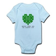 Celtic Heart (Green) Onesie
