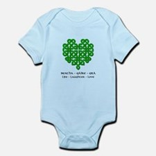 Celtic Heart (Green) Onesie