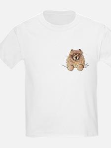 Cinnamon Pocket Chow T-Shirt