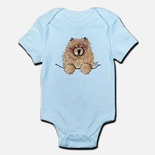 Cinnamon Pocket Chow Infant Bodysuit