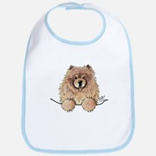 Cinnamon Pocket Chow Bib