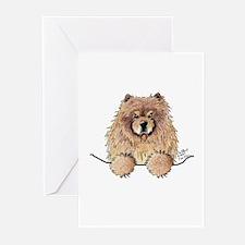 Cinnamon Pocket Chow Greeting Cards (Pk of 10)