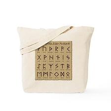 Parchment Runes Tote Bag