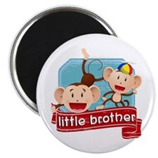 Little Brother Monkey Magnet