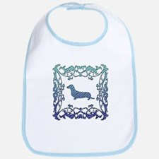 Dachshund Lattice Bib