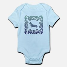 Dachshund Lattice Infant Bodysuit