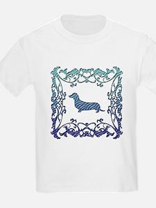 Dachshund Lattice T-Shirt