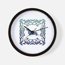 Dachshund Lattice Wall Clock