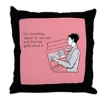 Something Special For Yourself Throw Pillow