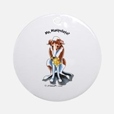 Greyhound Funny Ornament (Round)