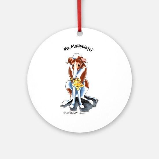 Greyhound Funny Ornament (Round)