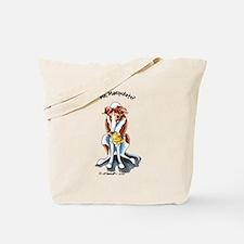 Greyhound Funny Tote Bag