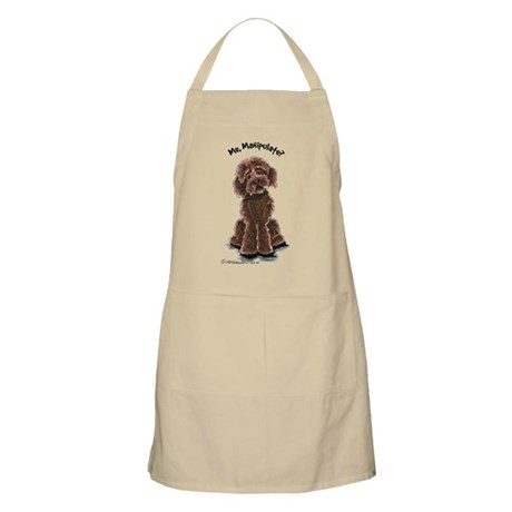 Chocolate Labradoodle Manipulate Apron