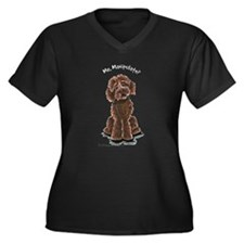 Chocolate Labradoodle Manipulate Women's Plus Size