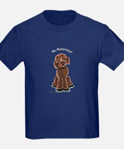 Chocolate Labradoodle Manipulate T