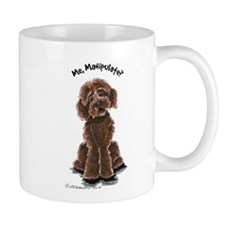Chocolate Labradoodle Manipulate Mug