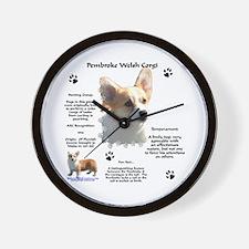 Corgi 1 Wall Clock
