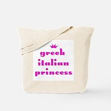 Greek Italian Princess (pink) Tote Bag