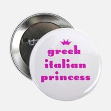 Greek Italian Princess (pink) Button