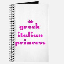 Greek Italian Princess (pink) Journal