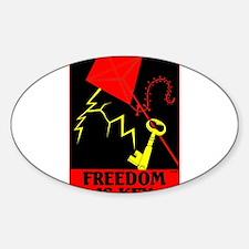 Freedom is Key Decal