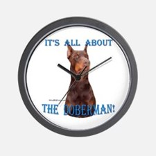 Dobie 5 Wall Clock