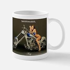 """MotoGirl """"Amy"""" Mug"""