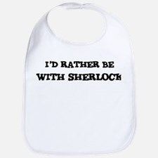 With Sherlock Bib