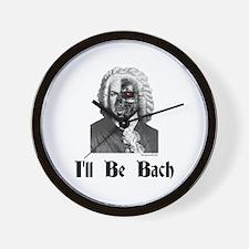 I'll Be Bach (2) Wall Clock