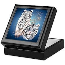 White Tigers Shirts Keepsake Box