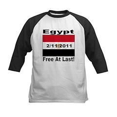 Egypt Free At Last 2/11/2011 Kids Baseball Jersey