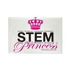 S.T.E.M. Princess Rectangle Magnet (100 pack)