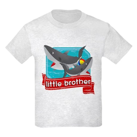 Little Brother Shark Kids Light T-Shirt