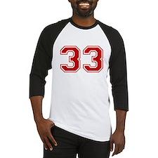 No. 33 Baseball Jersey