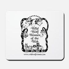 Wild Wolf Women Mousepad
