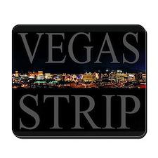 Vegas Strip at Night Mousepad 9.25x7.75