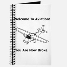 Aviation Broke Style B Journal