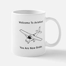 Aviation Broke Style B Mug