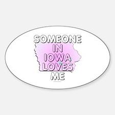 Someone in Iowa Decal