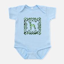 Greyhound Lattice Infant Bodysuit